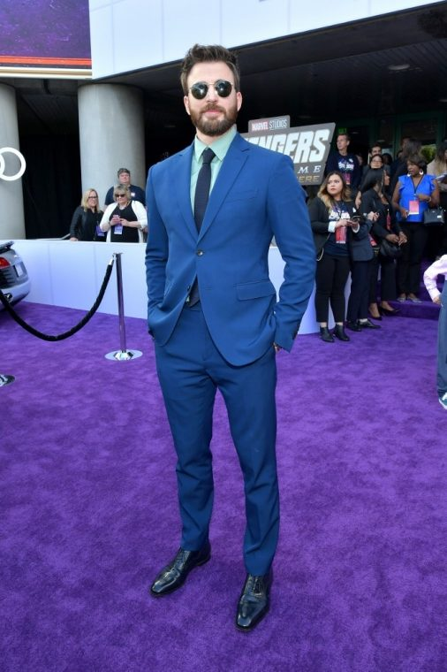 Chris Evans, el Capitán América