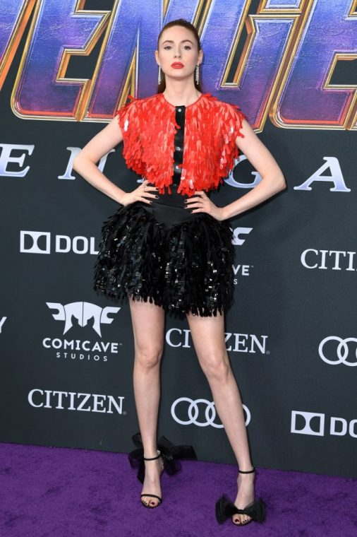 Karen Gillan, es Nebula de Guardianes de la Galaxia.