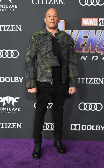 Vin Diesel, llega de Guardianes de la Galaxia.