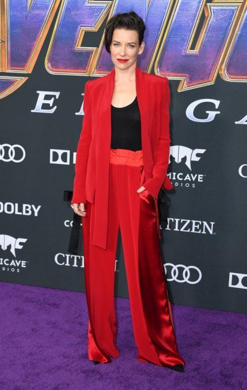 Envangeline Lilly, interpretó a la Avispa en Avengers.
