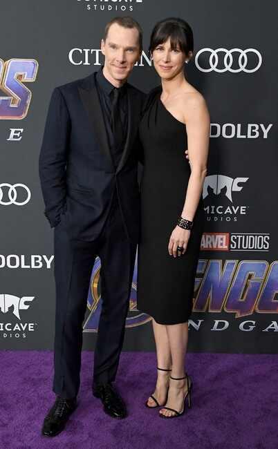 Benedict Cumberbatch y Sophie Hunter.